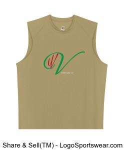 Mens Sleeveless B-Core Tee by Badger Design Zoom